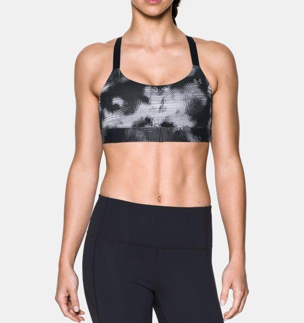 6e8c12bbda Under Armour Women s Armour® Eclipse Mid — Printed Sports Bra
