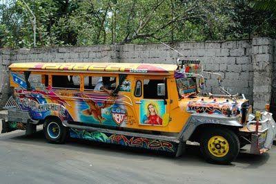 Jeepney Art Bus Jeepney Philippines Bus