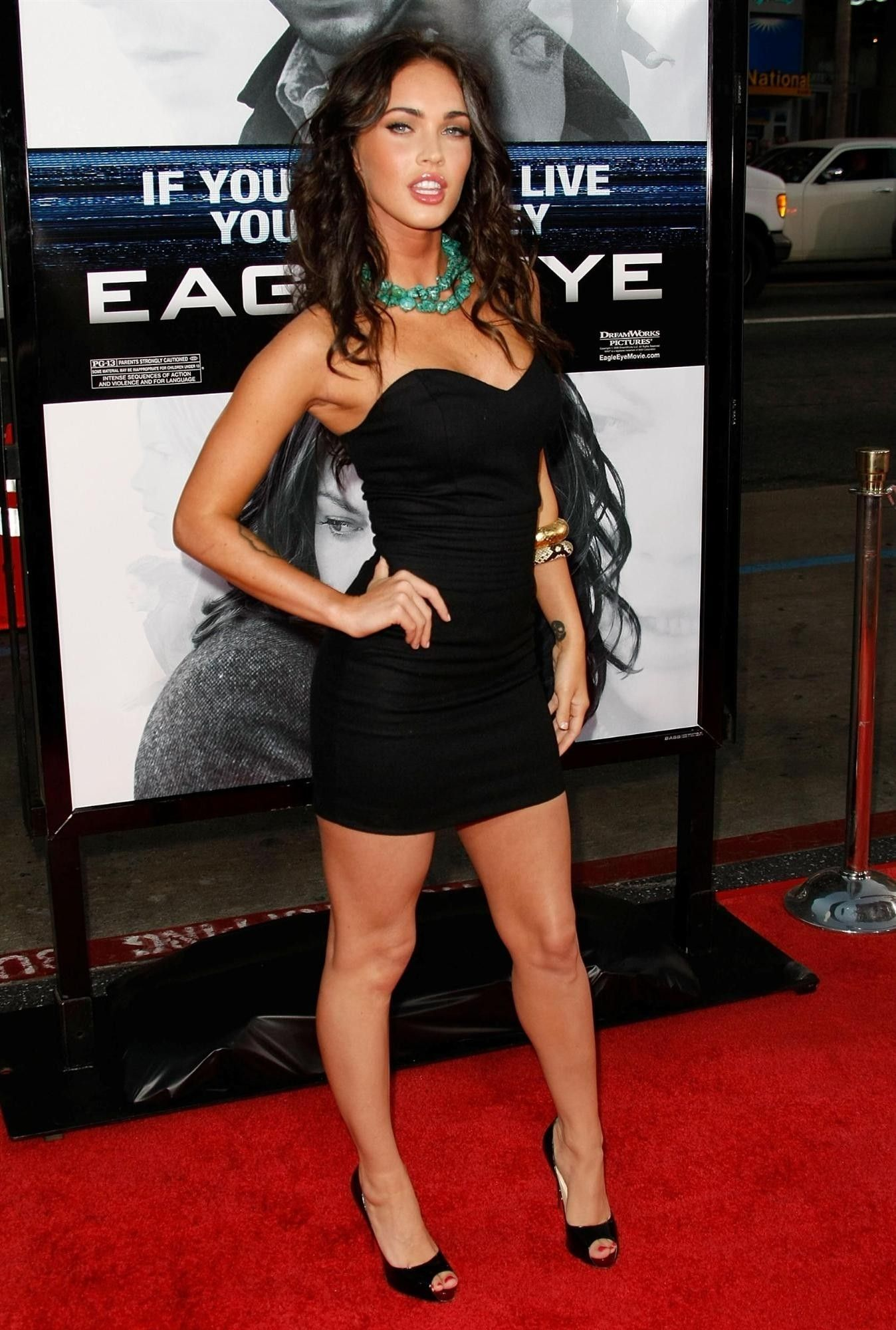 ed0cfa7329c brunettes tattoos women megan fox actress celebrity high heels red ...