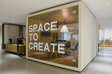 From nature creative interior design of rosemoo office in - Creative ideas for interior design ...