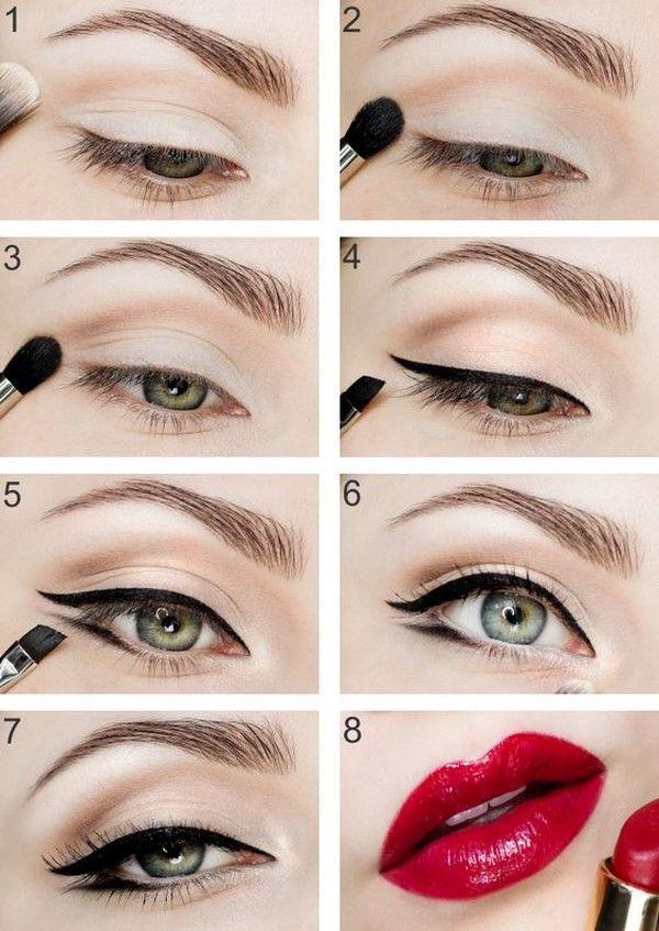 Правильные стрелки на глазах: как рисовать стрелки для ...