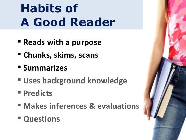 habits of a good reader thane billabongschool  explore good readers and more