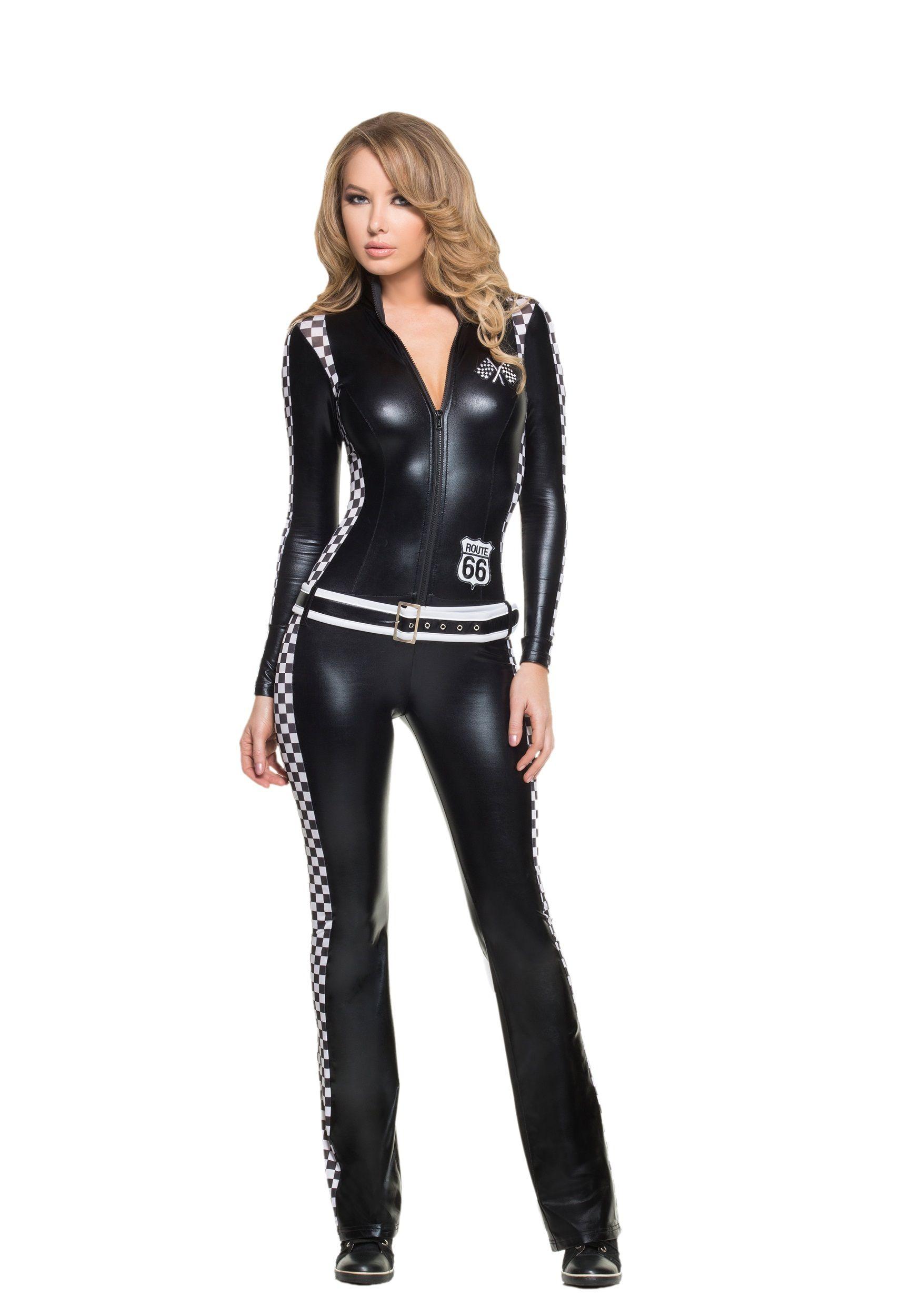 Women's Racer Girl Costume | Halloween Costume Ideas 2014 ...