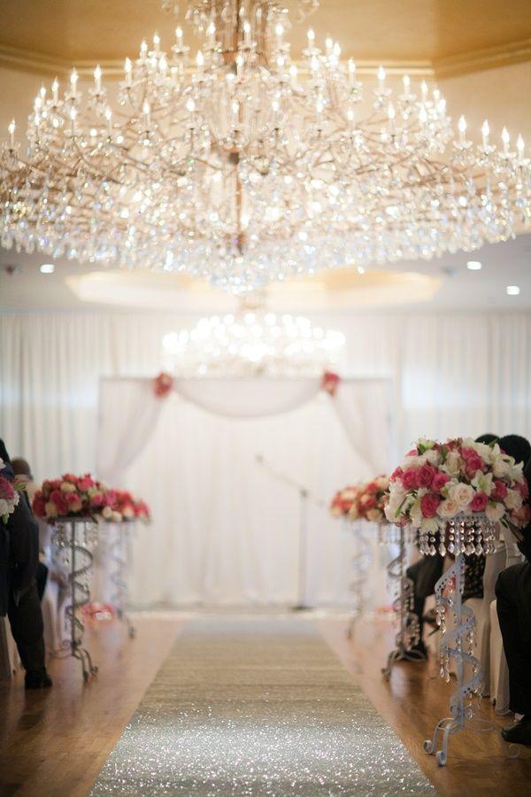 A Diamond Themed Blush And Platinum Wedding In New York Brides