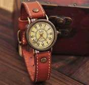 Image of [grhjr41600062]Ms retro watch old Roman dial watch