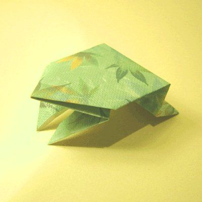 Origami Jumping Frog Instructions Maker Movement Pinterest