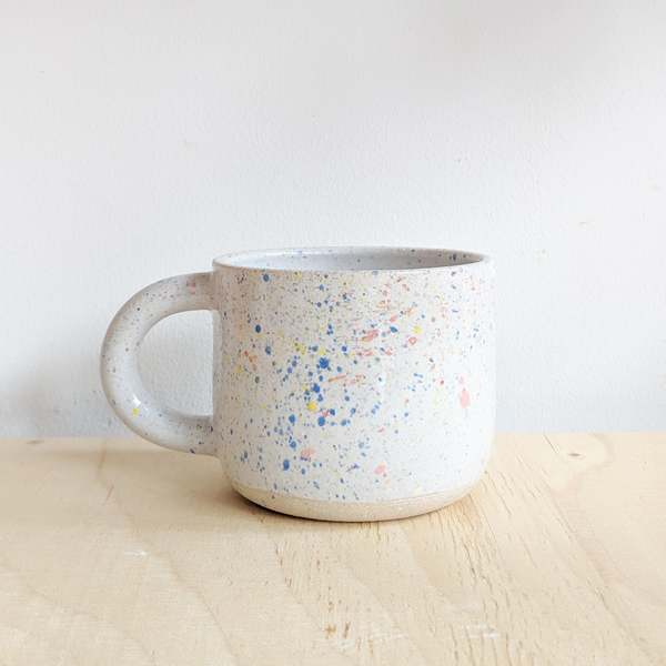 Milo Made Spatter Mug On Garmentory In 2021 Mugs Ceramics Ideas Pottery Ceramics