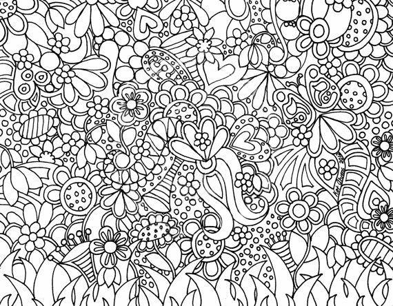 Mozaiek Bloem Kleurplaat Kleurplaatgroepbloemen Gif