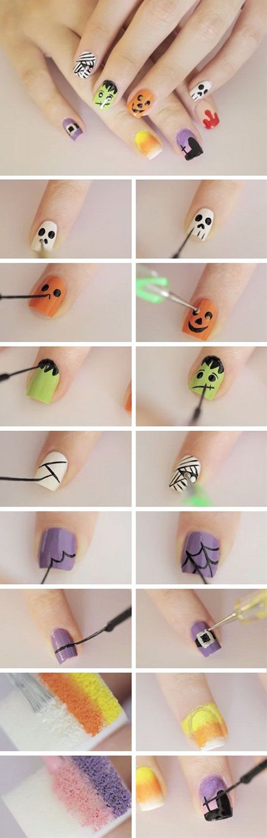 10 nice easy nail art tutorials for beginners diseos de uas 10 nice easy nail art tutorials for beginners solutioingenieria Image collections