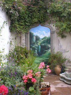 garden mural in brighton 1 ev pinterest artist garden
