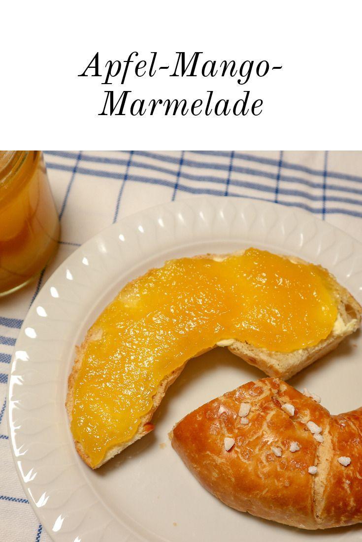 Für den eigenen Vorrat oder als Mitbringsel, Gastgeschenk oder kleine Aufmerksamkeit!! #mango #marmelade #fruchtaufstrich #früchte #obst #frühstück #apfel #fruchtgenuss #wintermarmelade #brioche #kipferl #Äpfelverwerten