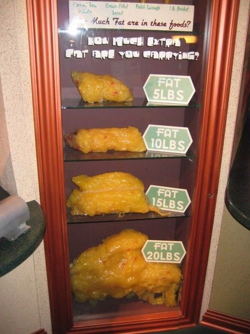 What pounds of fat look like  I got measured by my trainer today- I