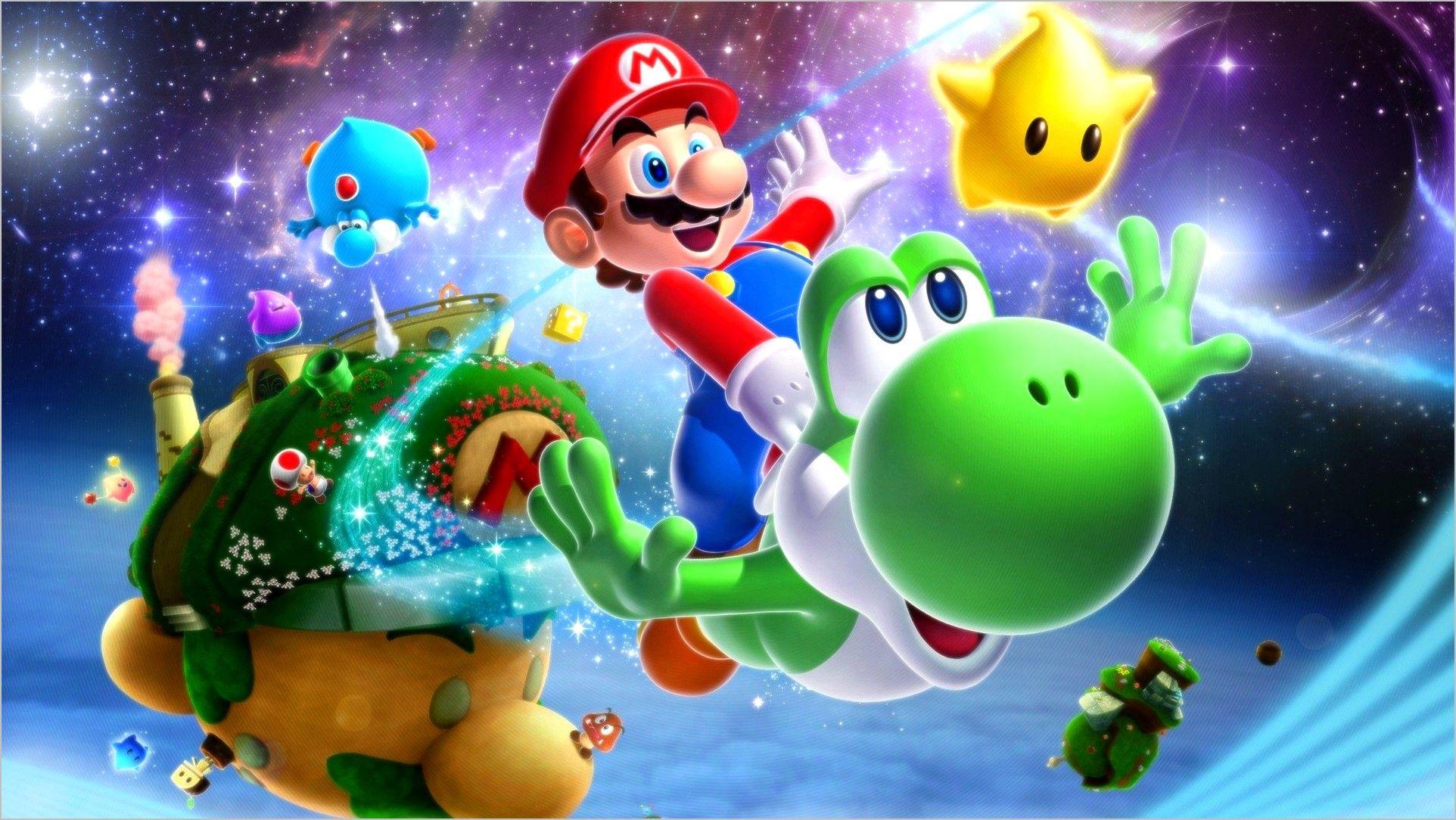Nintendo 4k Wallpaper Mario Galaxy Super Mario Galaxy Super Mario Diamond Painting
