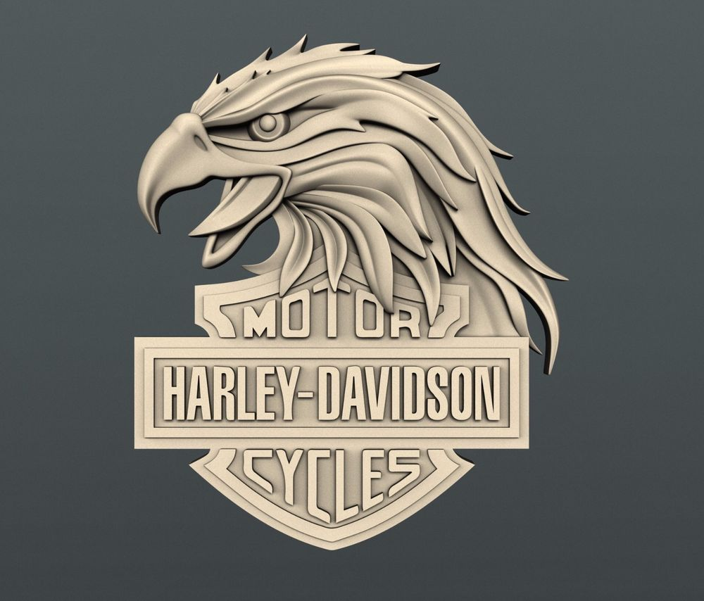 3d stl models for cnc artcam aspire relief harley davidson