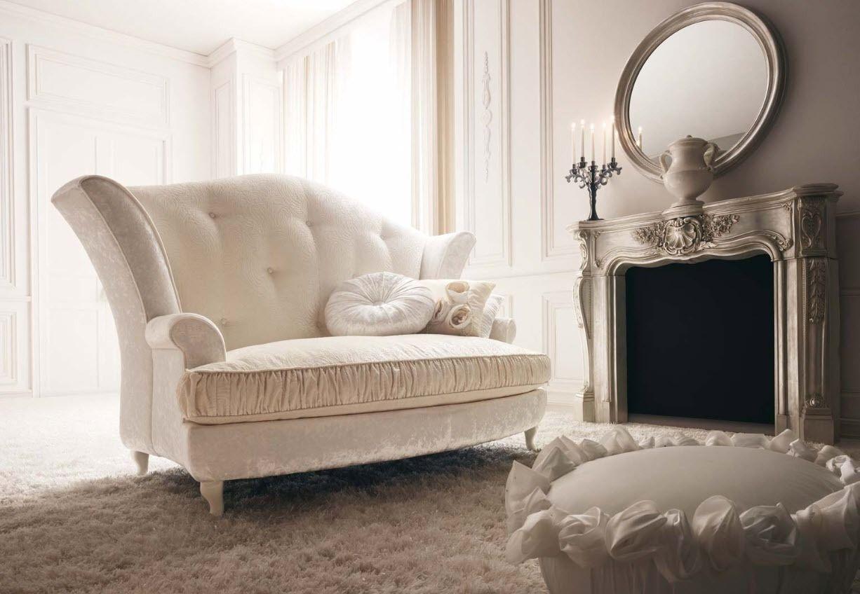 Neue stil zu hause design-bilder classic style sofa capri giusti portos  soft creams and champagne