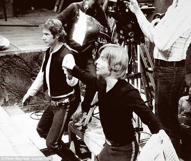 Harrison Ford & Mark Hamill [ A New Hope ]