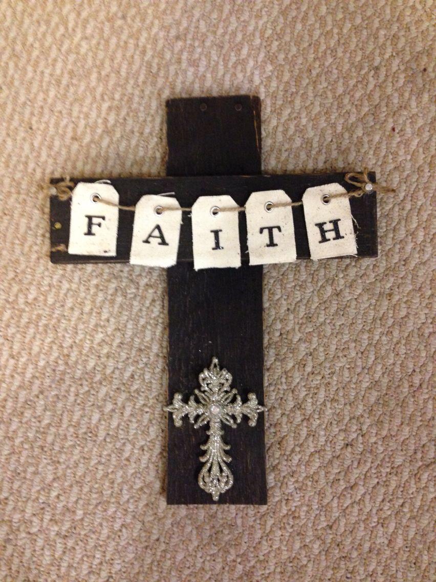 Pallet rustic cross | Crafts, Rustic cross, Rustic