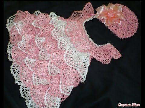 9ccde3e217dc video 1 crochet sparkle cotton baby girl spring summer dress
