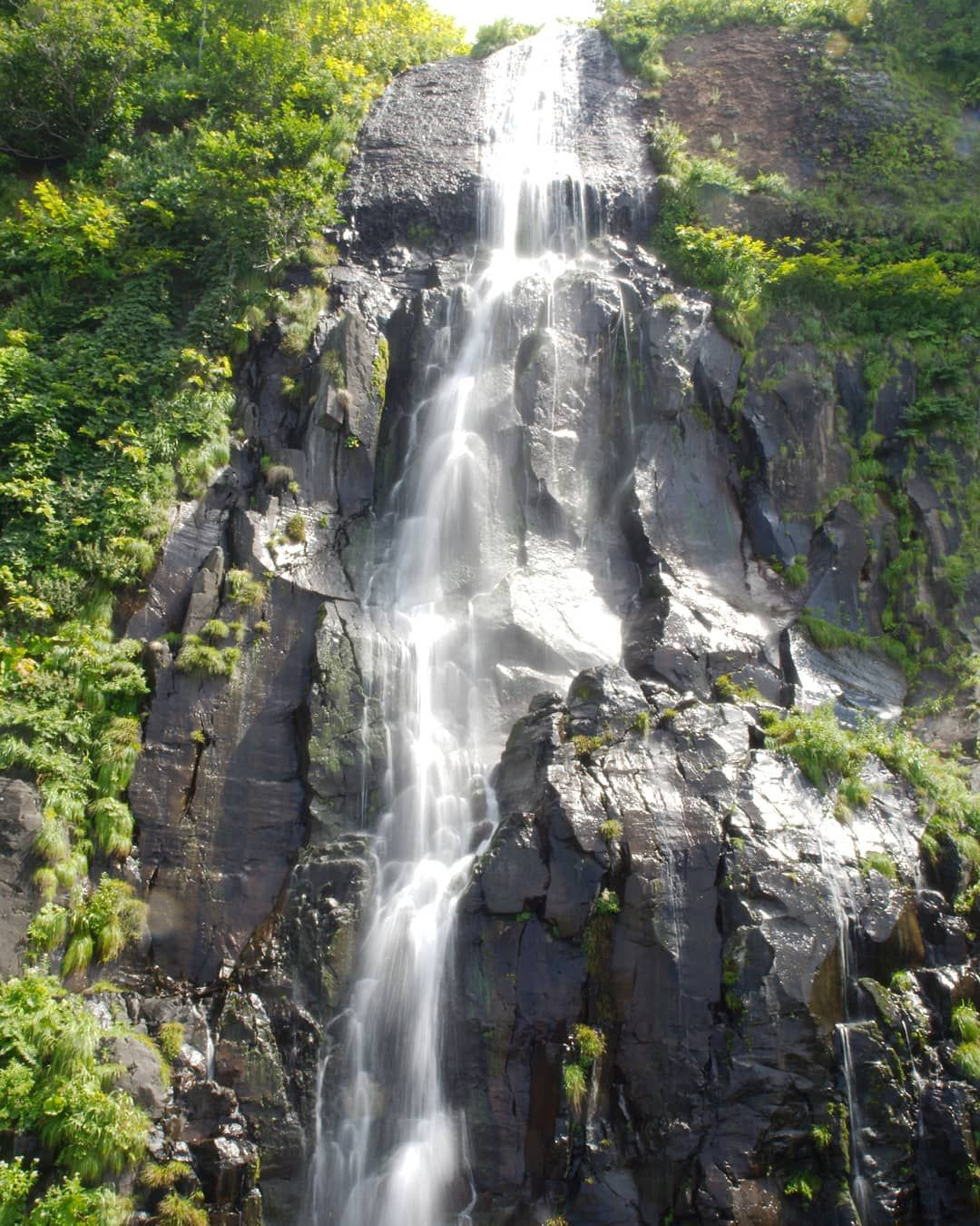 珍しく滝POST😉 2019/08/13@白銀の滝📷