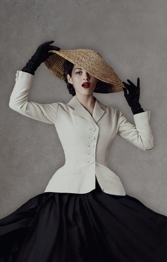 b74d06f0eacf0 Dior la révolution du New Look   mode   Pinterest   Haute couture ...