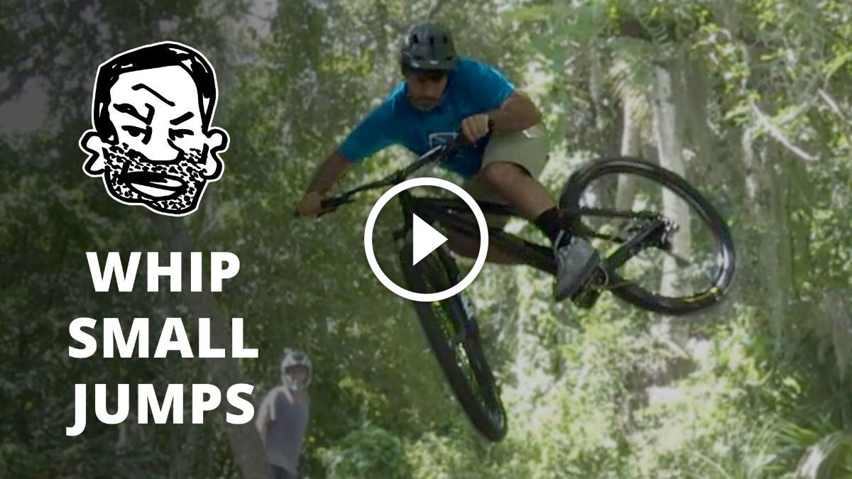 Watch How To Whip Small Jumps On A Mtb Cycling For Beginners