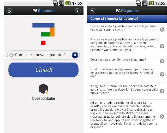 La prima app per smartphone in grado di darti tutte le informazioni che cerchi sulla Pubblica Amministrazione