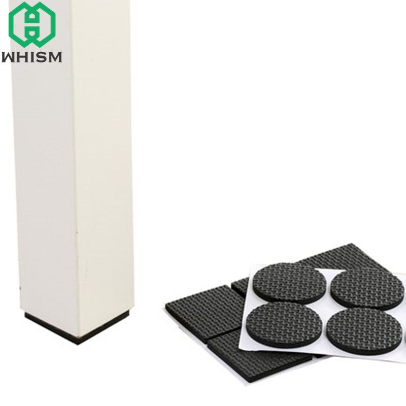 Whism Self Adhesive Mobel Bein Anti Slip Stuhl Fusse Eva Tischauflagen Sofa Matten Anti Skid Schrank Protektoren Bode Furniture Legs Furniture Chair Floor Table
