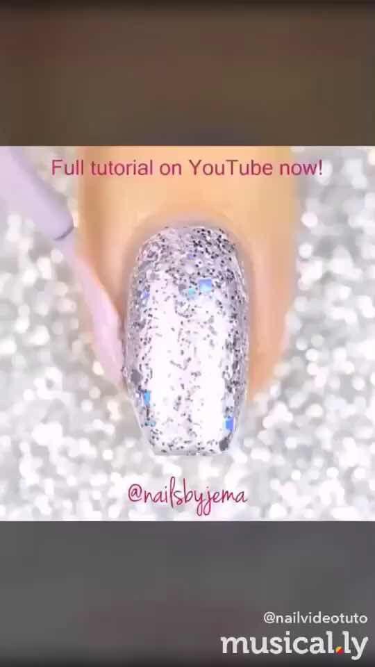 Sparkly water color nails!!! #nailartvids #nailart #nails #featureme ...