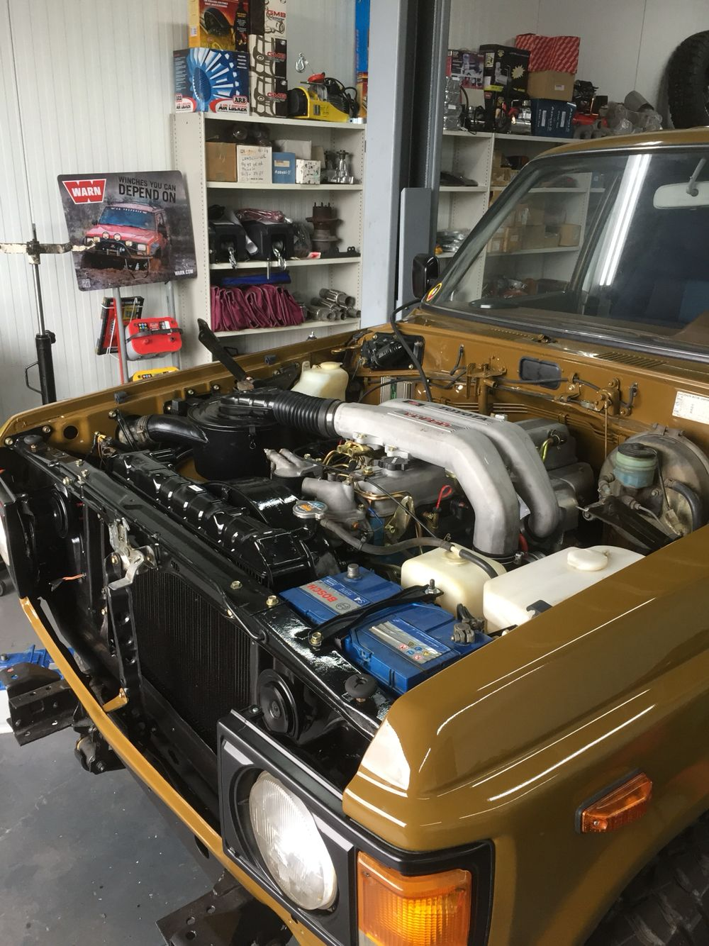 Hj60 12ht conversion | Fj 60 1987 | Toyota trucks, Land
