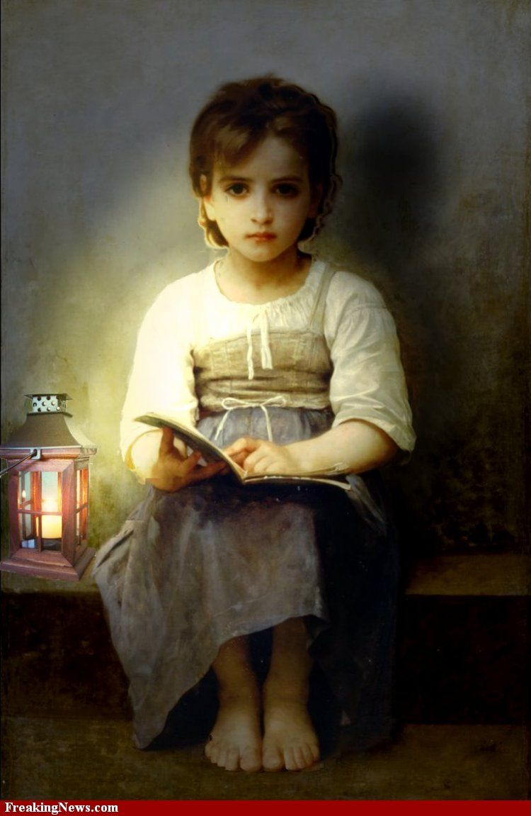 Reading by Candle Light pictures | Art | Pinterest | William adolphe ... for Girl With Candle Painting  284dqh