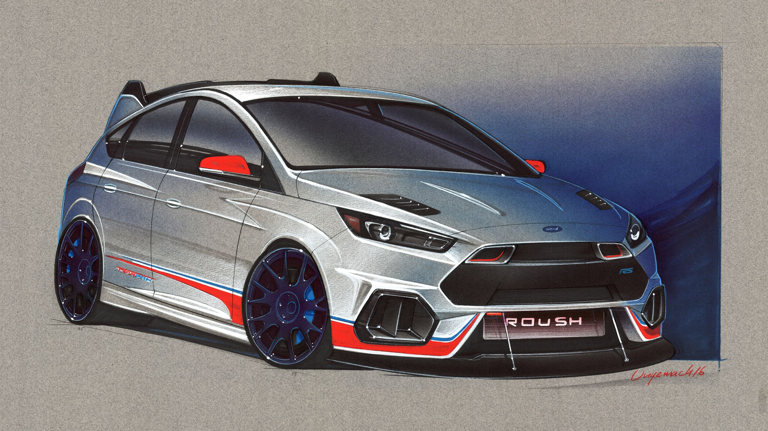 Ford Spices Up Its Hot Hatchbacks For Sema Ford Focus Ford