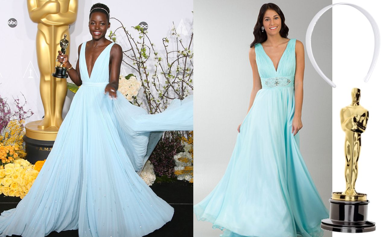 Get Lupita\'s Oscar Dress for Less | Celebrity Looks For Less ...