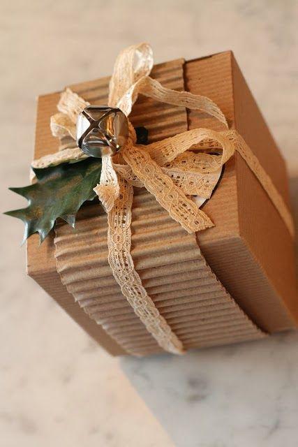 Emballage cadeau nature