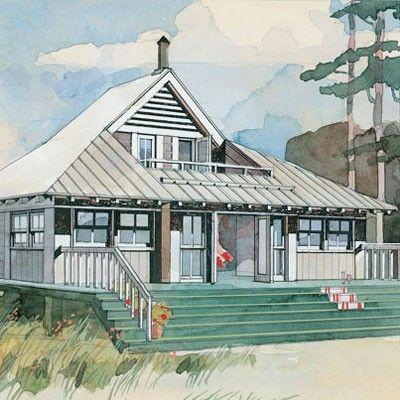 Beach Bungalow Plan 243 Beach Cottage House Plans Tiny Beach House Beach Cottage Decor