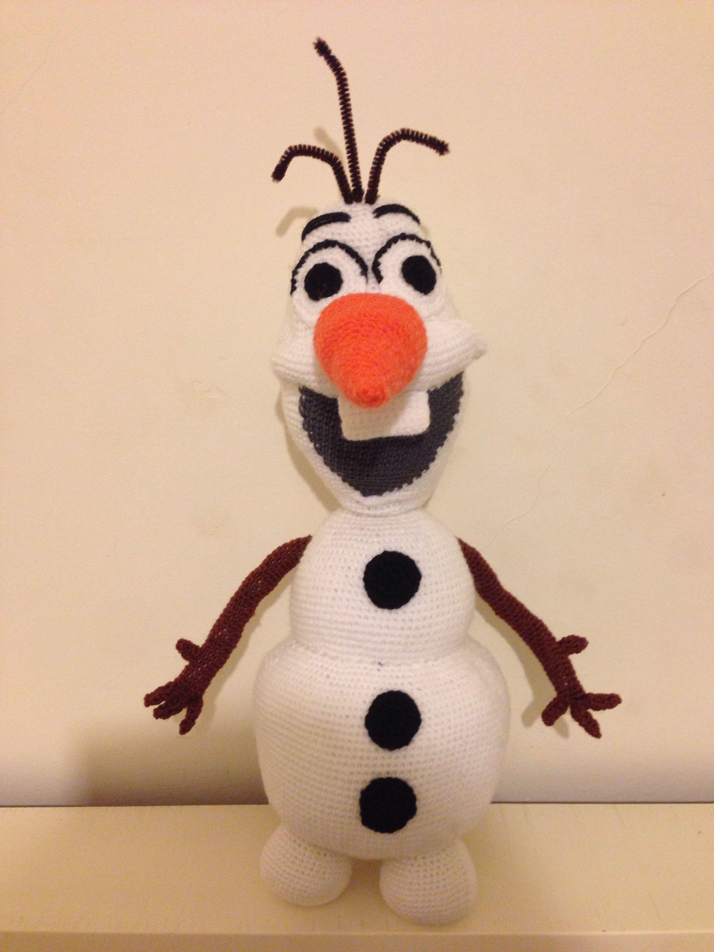 Amigurumi Patterns Olaf : Crochet olaf applique │ frozen │ youtube