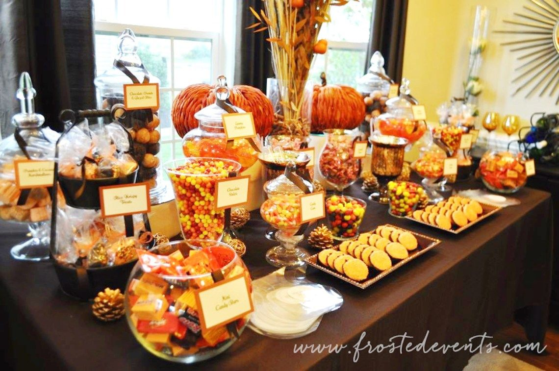 Halloween buffet table - Diy Dessert Table For Wedding Or Party