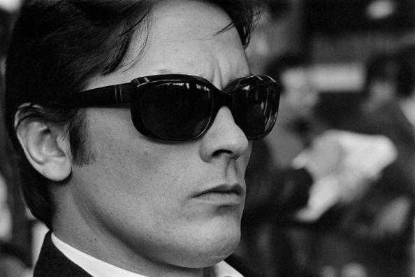 Belmondo's stylish 60s Metal Sunglasses in Godard film
