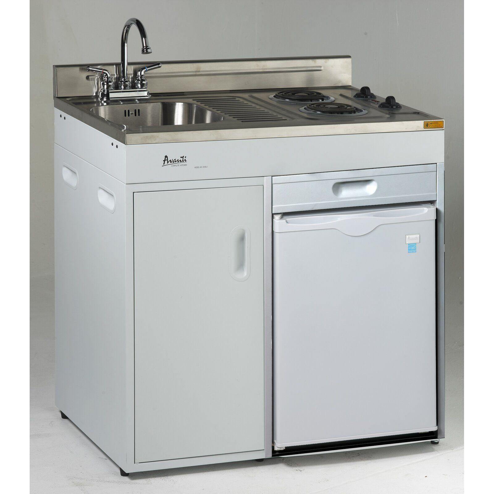Avanti 2.2 cu. ft. Compact Refrigerator with Sink