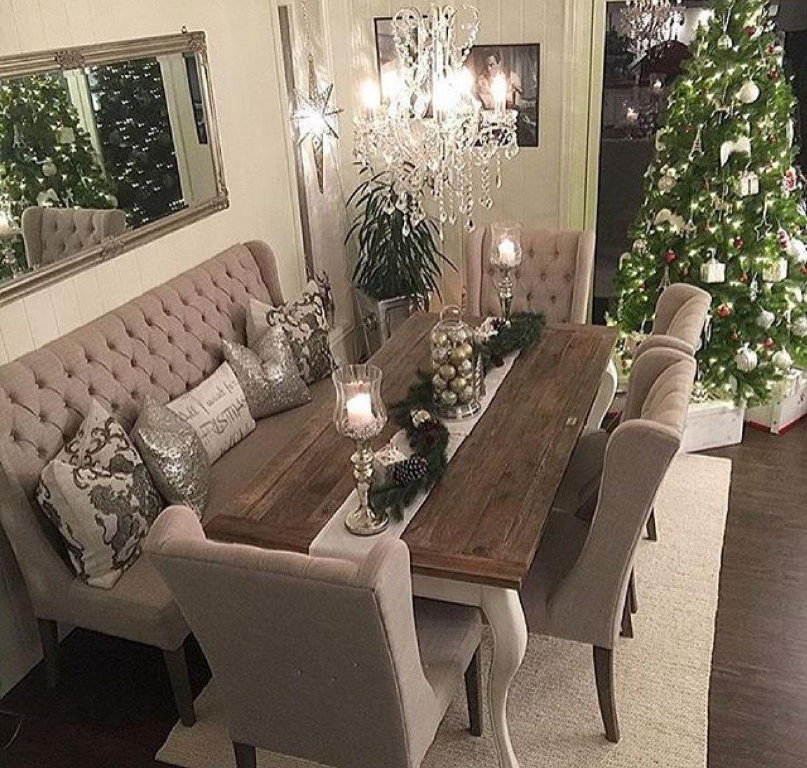 30 Fabulous Modern Cozy Dining Room Farmhouse Dining Room