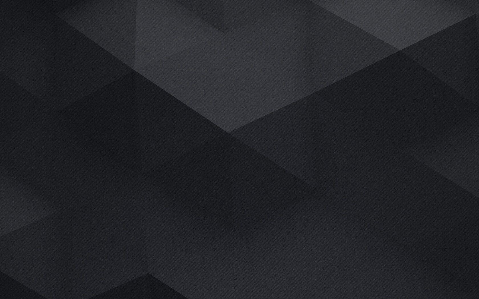 1680x1050 Black Minimalistic Geometry Wallpapers