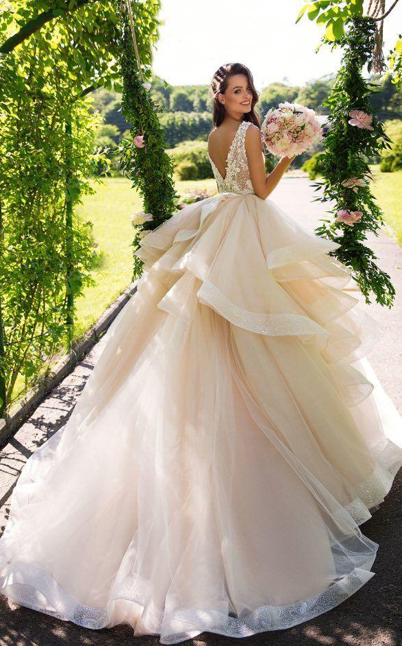 561cd76fd1 Ball Gown Wedding Dresses   Featured Wedding Dress Milla Nova  www.millanova.com   Wedding dress idea.