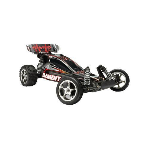 NEW! 4amp DC Peak Detecting Fast Charger NEW! Traxxas 7-cell NiMH battery with iDTM - TQ™ 2.4GHz radio system - Waterproof electronics for all-weather driving - excitement in water, mud and snow! - 35