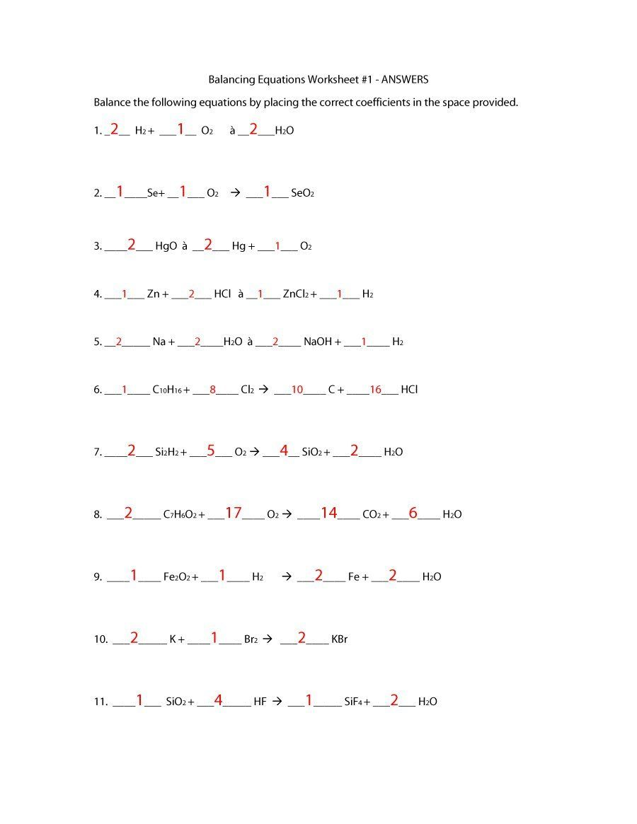 medium resolution of Download balancing equations 35   Balancing equations