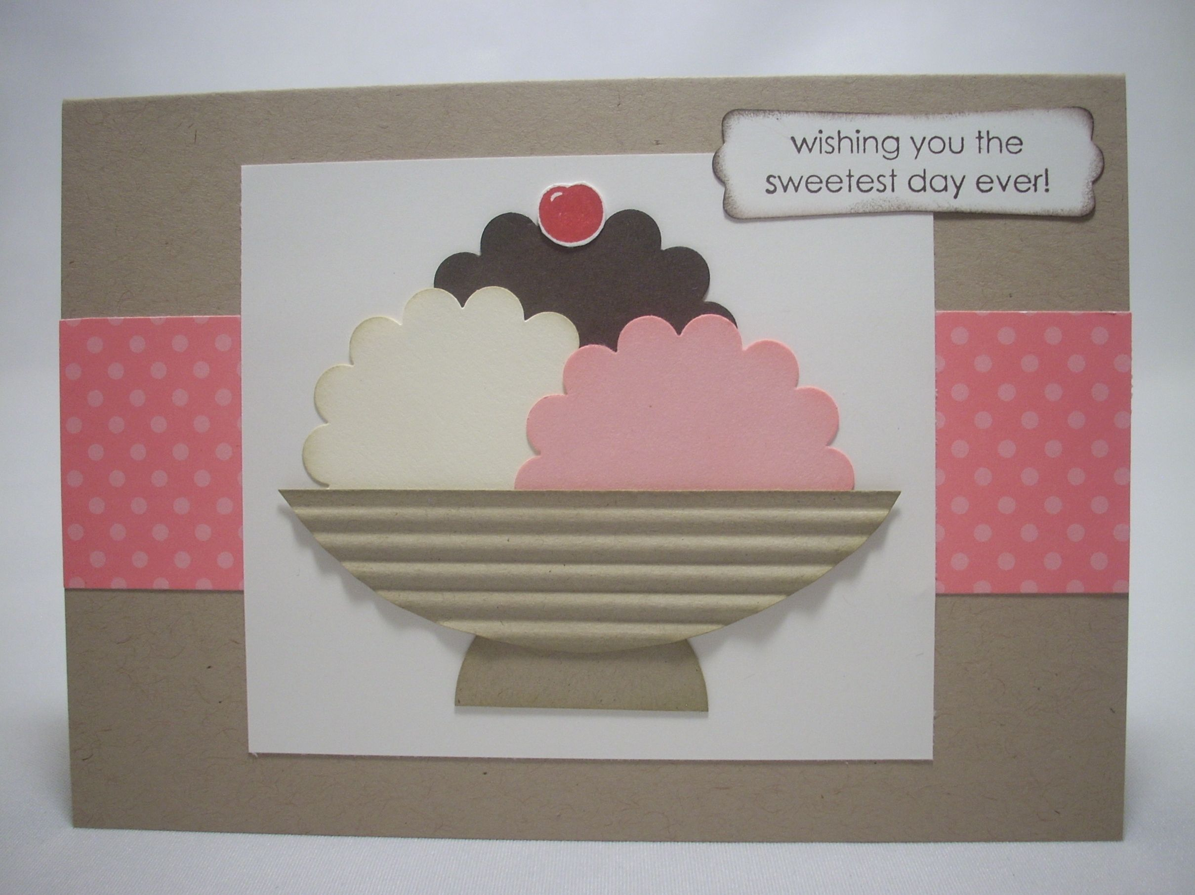 another adorable card from Lily-by-Gily.  How sinking cute and easy!