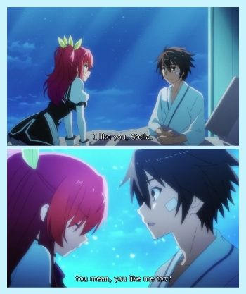 Ikki & Stella - Confession Time - Rakuda Kishi No Cavalry (Chivalry of a failed knight)