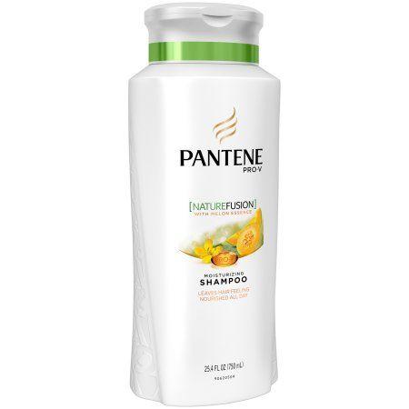 Pantene Pro-V Nature Fusion Moisturizing Shampoo with Melon Essence, 25.4 fl oz, Multicolor