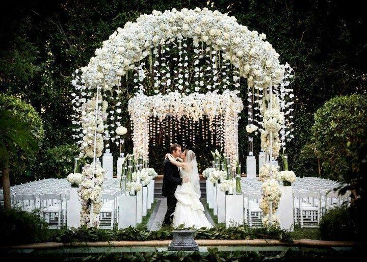 Beautiful Ceremony Decor Inspiration - Aisle Arches | Decoration ...