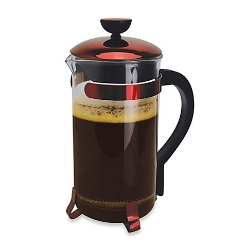 Primula® Classic 8-Cup Coffee Press in Metallic Red