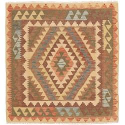 Photo of Kilim Afghan Old style rug 98×104 oriental rug, square