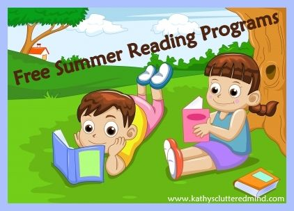 Kathys Cluttered Mind: FREE Summer Reading Programs For 2015